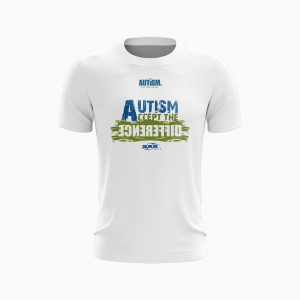 AUTISM NZ WHITE T-SHIRTS