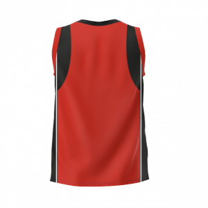 PONEKE RUGBY SUPPORTER'S SINGLET – RED (TOP 215 S FB)