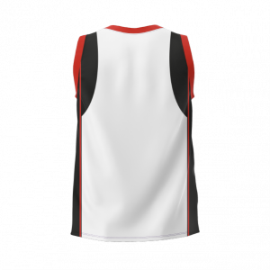 PONEKE RUGBY SUPPORTER'S SINGLET – WHITE (TOP 215 S FB)